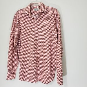 Eighty Eight Cotton Checked Shirt, Size Large